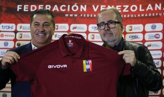 Peseiro fue presentado el miércoles como DT de Venezuela / Foto: Cortesía