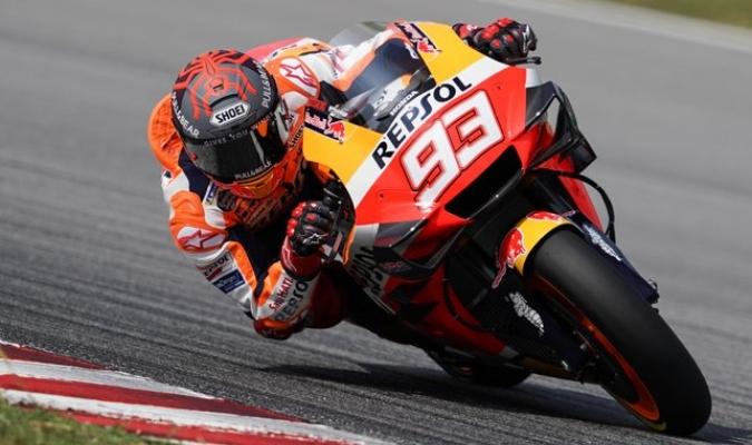 Márquez se recupera de su operación en el hombro / Foto: Cortesía