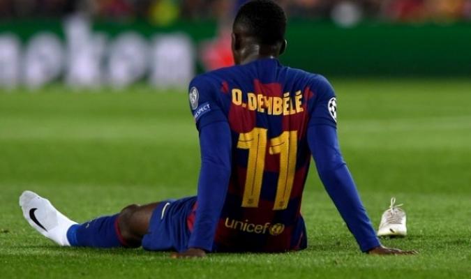 Dembélé se ausentará un tiempo prolongado / Foto: Cortesía