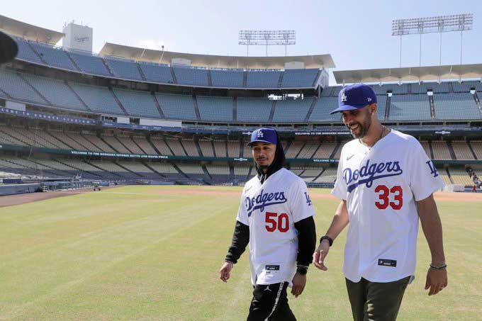 Ambos jugadores llegan desde Boston / Foto: Cortesía