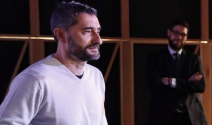 El estratega recibió un premio en Bilbao/ Foto EFE