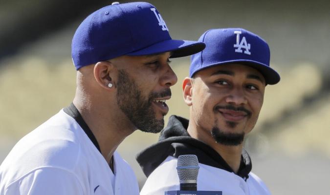 Price y Betts ya fueron presentados en Dodgers / Foto: AP