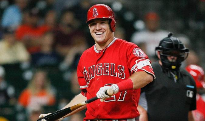 Trout fue nombrado como el mejor pelotero de la MLB/ Foto Cortesía
