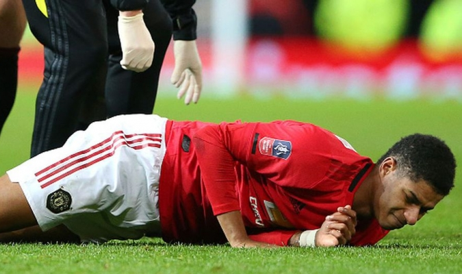 Rashford sufrió una lesión el mes pasado en la espalda / Foto: Cortesía