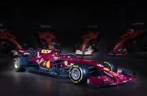 Ferrari mostró sus traje de gala para su carrera mil