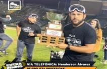 Henderson Álvarez quedó campeón en la Liga Independiente